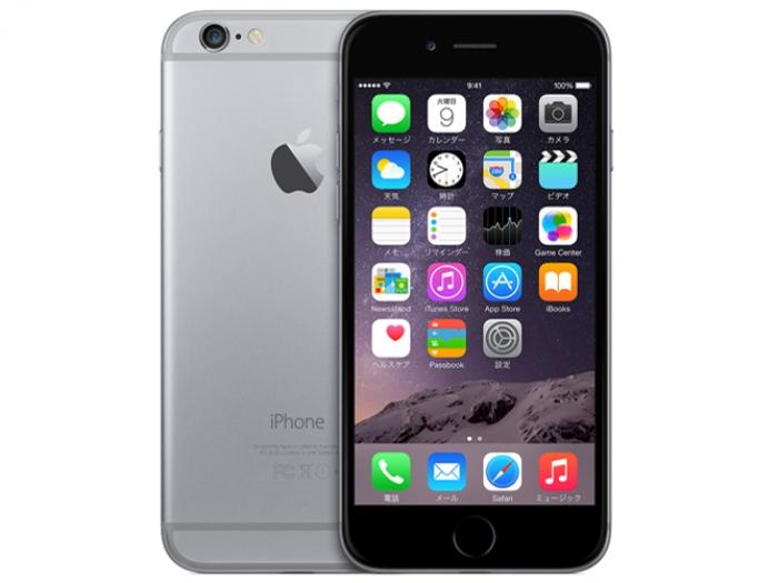 【中古】【白ロム】【au】iPhone6 64GB