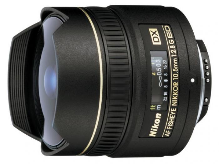 【中古】Nikon Nikkor AF DX Fisheye 10.5mm f/2.8G ED