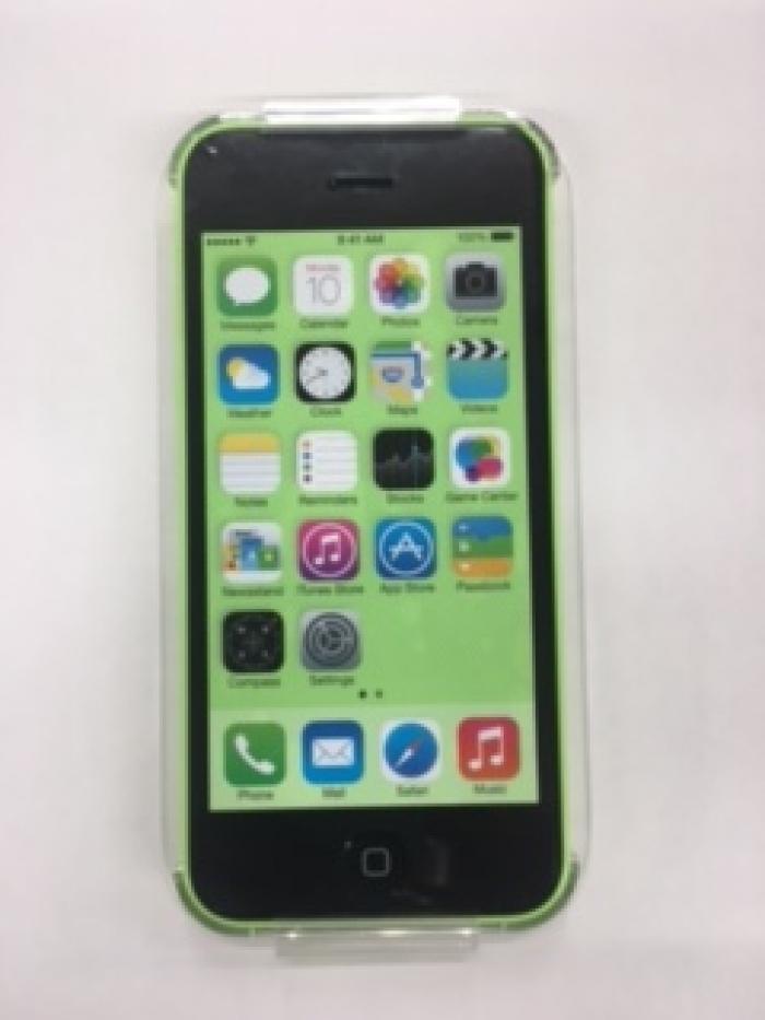 【中古】【白ロム】【SoftBank】iPhone5C 32GBグリーン【Bランク】【〇判定】