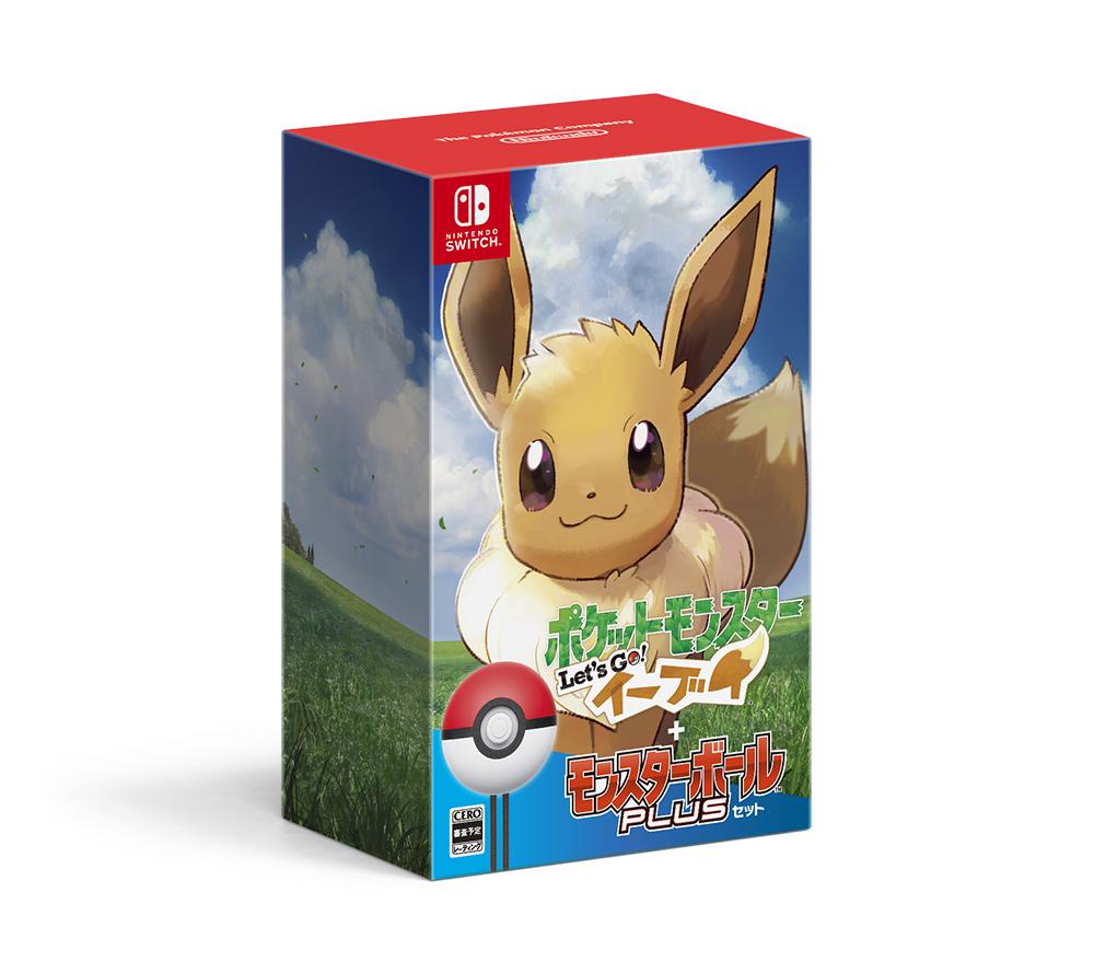 【新品】 ポケットモンスター Let's Go! イーブイ モンスターボール Plusセット Nintendo Switch HAC-R-ADW3A / 新品 ゲーム