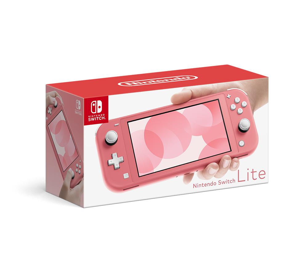 送料無料 中古 Nintendo メーカー在庫限り品 卓出 Switch Lite HDH-S-PAZAA ゲーム ニンテンドースイッチ コーラル 本体