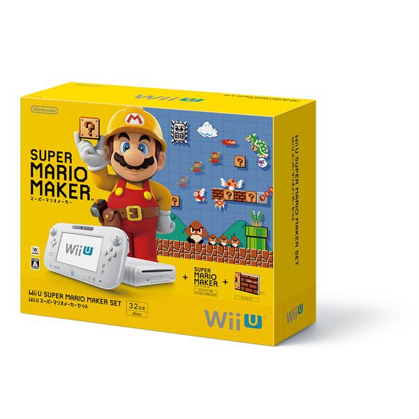 【中古】 WiiU 本体 スーパーマリオメーカー セット WUP-S-WAHA / 中古 ゲーム