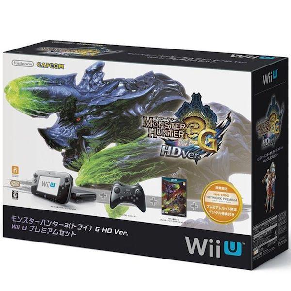 【中古】 WiiU 本体 プレミアムセット モンスターハンター3G HD WUP-S-KAFD / 中古 ゲーム