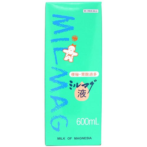 【第3類医薬品】ミルマグ液 600mL ×9個セット 【3980円以上送料無料(沖縄・離島・海外除く)】