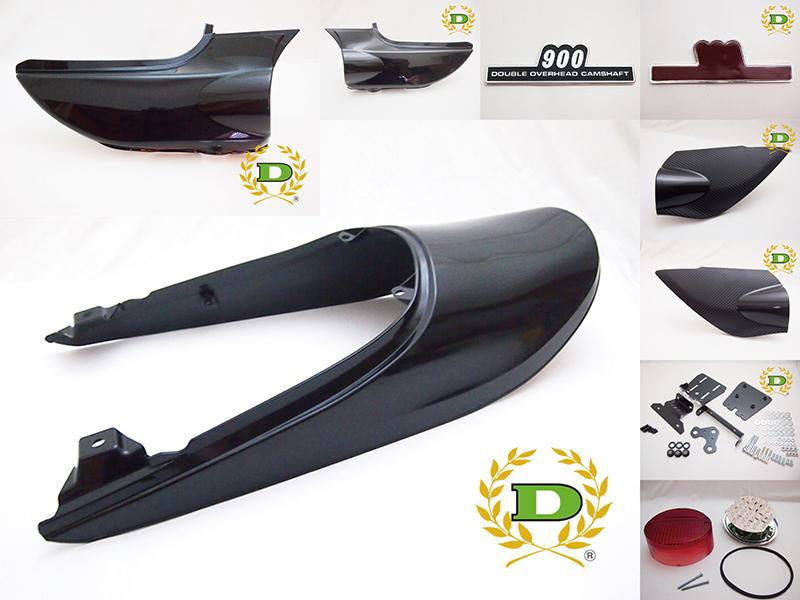 【ドレミコレクション】Z900RS用カウリングセットメタリックスーパーブラック