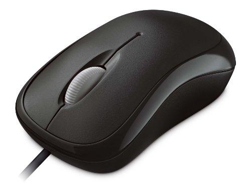 【新品】 マイクロソフト マウス 有線/USB接続 L2 Basic Optical Mouse Mac/Win セサミブラック P58-00069