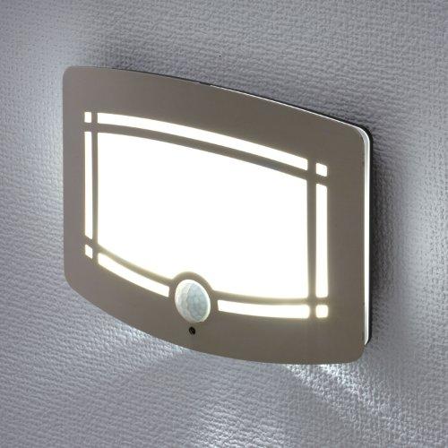 【新品】 ELPA LEDナイトライト 明暗&人感センサー シャンパンゴールド PM-L211(CG)