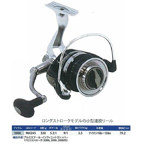 【新品】 GLOBERIDE(グローブライド) リール HS スーパーキャスト 3000