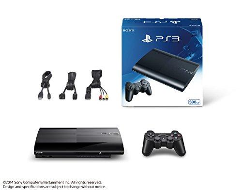 【新品】 PlayStation3 チャコール・ブラック 500GB (CECH4300C)