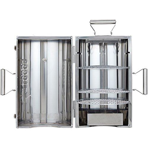 【新品】 ロゴス スモーカー スモーク料理対応 180度開閉タイプ LOGOSの森林 スモークタワー