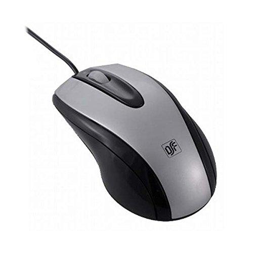 【新品】 光学式マウス Lシルバー