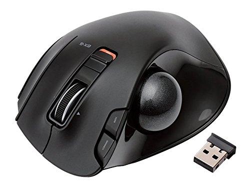 【新品】 エレコム ワイヤレスマウス トラックボール 6ボタン ブラック M-XT3DRBK