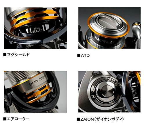 【新品】 ダイワ リール 16 EM MS 2508PE-H