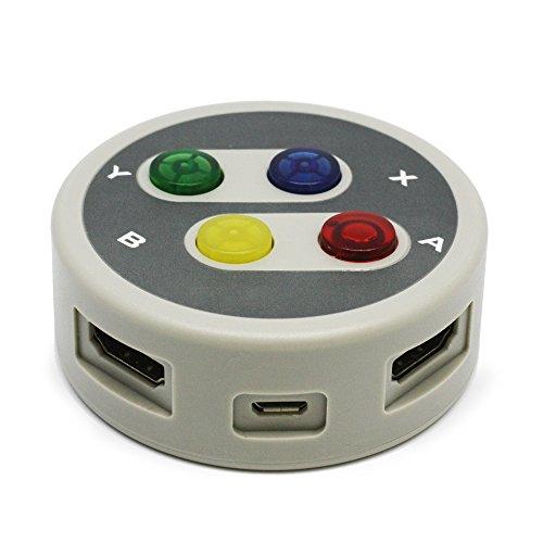 【新品】 レトロ HDMI セレクタ (PS4/PS3/PSVitaTV/WiiU/Xbox One/Xbox360/HDMI搭載機器用)