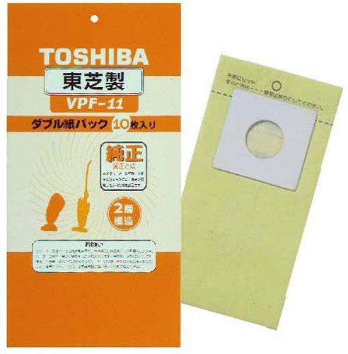 【新品】 東芝 ダブル紙パックフィルター VPF-11
