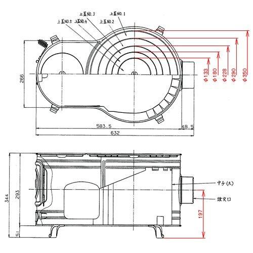 【新品】 ホンマ製作所 ステンレス時計1型薪ストーブセット
