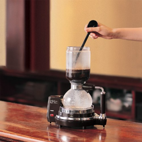 【新品】 TWINBIRD サイフォン式コーヒーメーカー ダークブラウン CM-D853BR