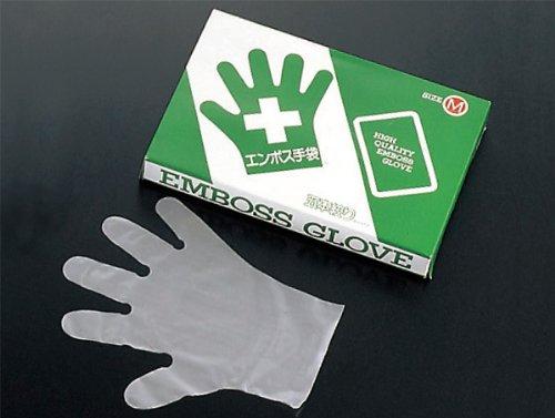 愛用  【新品】 エコノミー 手袋 #28 化粧箱(五本絞り)200枚入 L(外)27μ, オビヒロシ 2b46f71e