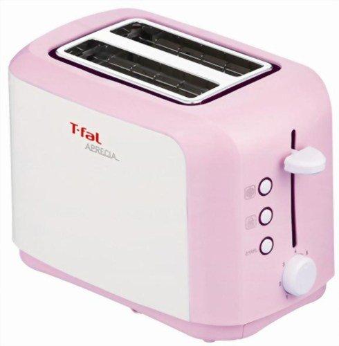 【新品】 T-fal トースター 「アプレシア」 ポップアップ シュガーピンク TT356770