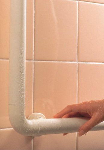 【新品】 三栄水栓 【介護・手すり】 ソフトバーL型 バーの直径34mm・長さ600×400mm W580-C