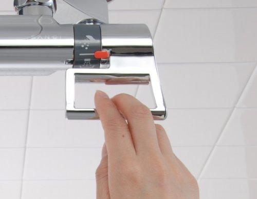 【新品】 三栄水栓 【バス用混合栓】 サーモシャワー混合栓