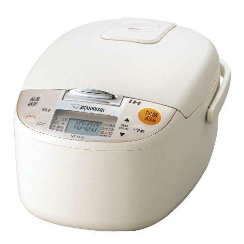 【新品】 象印 炊飯器 IH式 5.5合 ライトベージュ NP-XA10-CL