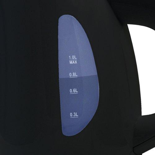 【新品】 DRETEC 電気ケトル ディンブラ ブラック PO-121BK