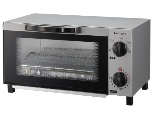 【新品】 コイズミ オーブントースター シルバー KOS-1013/S