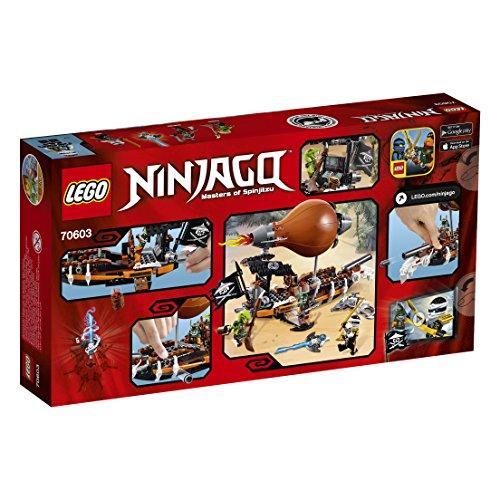 【新品】 レゴ (LEGO) ニンジャゴー ドゥブルーンのツェッペリン飛行船 70603