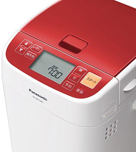 【新品】 パナソニック ホームベーカリー 1斤タイプ レッド SD-BH1001-R