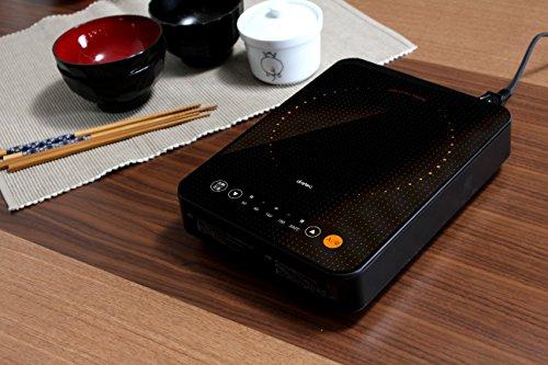 【新品】 DRETEC ドリテック  ミニフラットIH調理器 DI-214
