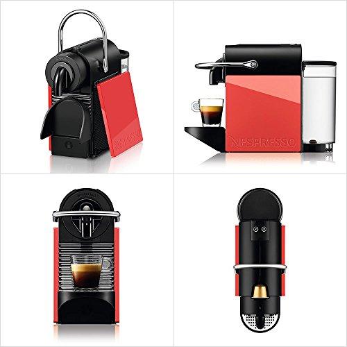 【新品】 ネスプレッソ コーヒーメーカー ピクシークリップ ホワイト&コーラルレッド D60WR