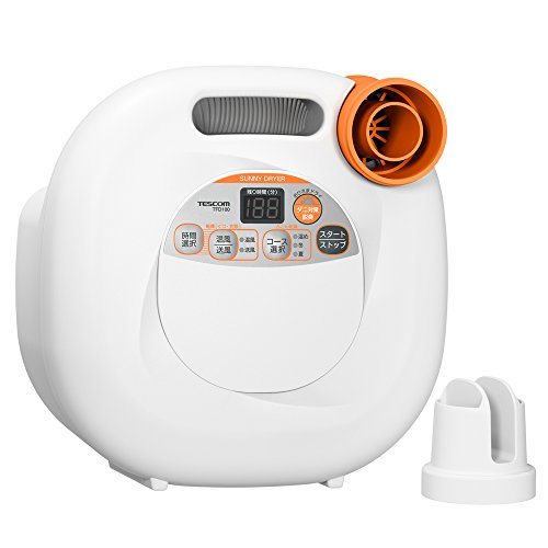 【新品】 TESCOM ふとん乾燥機 ホワイト TFD100-W