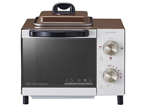 【新品】 コイズミ オーブントースター 目玉焼き機能付き ブラウン KOS-0703/T