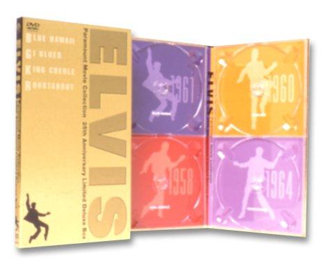 【新品】 ELVIS Paramount Movie Collection 25th Anniversary Limited Deluxe Box [DVD]