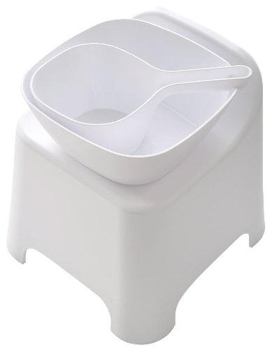 【新品】 シンカテック 風呂椅子 クロビス バススツール F ブラック