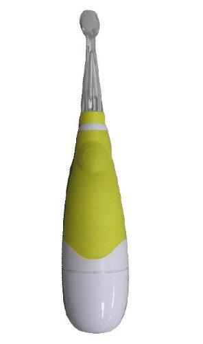 【新品】 ヤザワ 赤ちゃん用電動歯ブラシ LED内蔵 オートオフ機能付 KIDS10YL