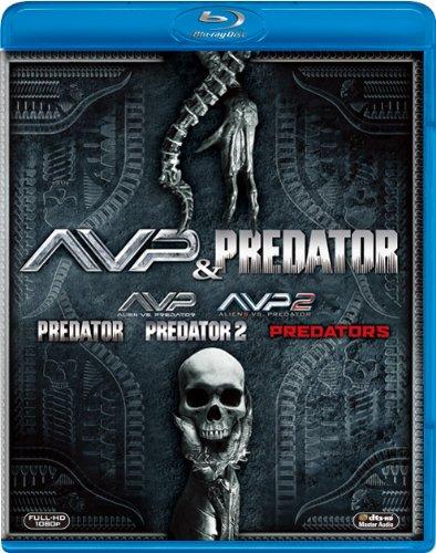 【新品】 【FOX HERO COLLECTION】AVP&プレデター ブルーレイBOX(5枚組)(初回生産限定) [Blu-ray]
