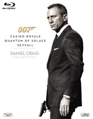 【新品】 007/ダニエル・クレイグ・ブルーレイ・トリプル・コレクション (初回生産限定) [Blu-ray]