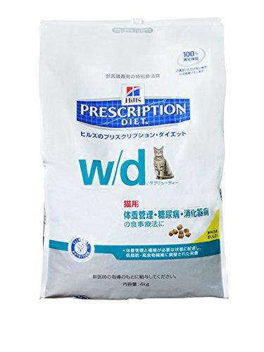 【新品】 プリスクリプション・ダイエット 療法食 WD 猫 4kg