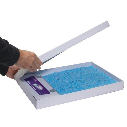 【新品】 ペットセーフ スクープフリー 交換用「ねこ砂トレーセット」 クリスタルブルー 3個パック