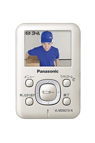 【新品】 Panasonic ワイヤレスドアモニター ドアモニ シャンパンゴールド ワイヤレスドアカメラ+モニター親機 各1台セット VL-SDM210-N
