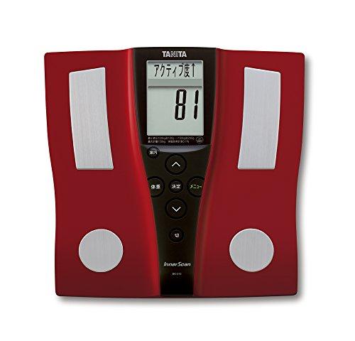 【新品】 タニタ 体組成計 BC-210-RD(レッド) 乗るピタ機能で簡単測定