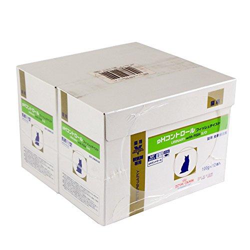 【新品】 ロイヤルカナン 療法食 猫 PHコントロールフィッシュテイストパウチ 100g×24個