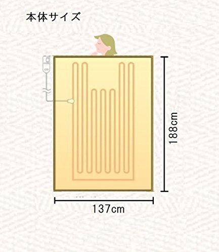 【新品】 パナソニック 電気かけしき毛布(シングルMサイズ) ライトグレー