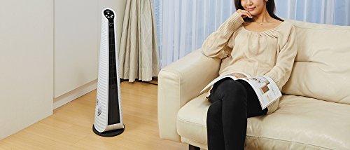【新品】 HEATEC ヒーテック タワー型涼風・温風機「トーレ・ビアンカ」 【TH-100】