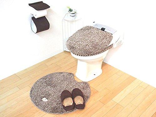 【新品】 ファミーユベアー 洗浄暖房用 フタカバー BR ふわふわ感触あたたか生地