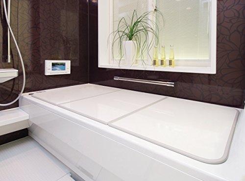 【新品】 東プレ 抗菌タイプ 組み合わせ式風呂ふた センセーション(3枚割) 75×140cm ホワイト/ホワイト L14