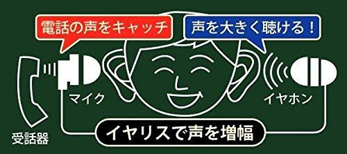 【新品】 ELPA(エルパ) イヤリス専用TEL用イヤホンマイク AS-EM03 1808000