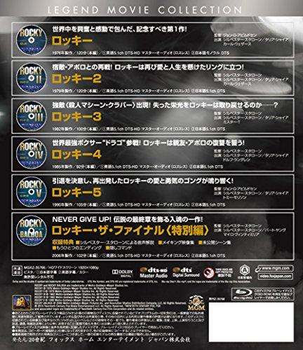 【新品】 ロッキー ブルーレイコレクション(6枚組) [Blu-ray]